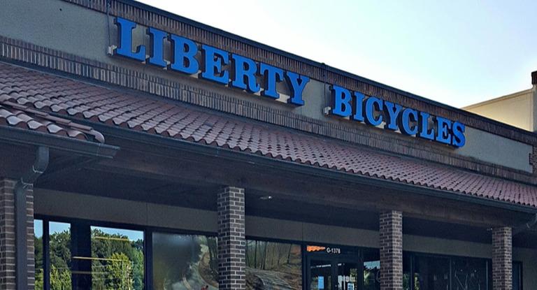 Liberty bike storefront