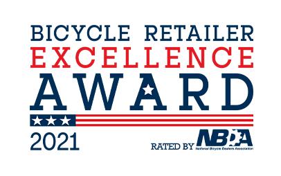 NBDA BREA Award 2021 logo