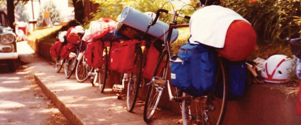 1980s Bicycle Tour