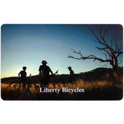 Liberty Bicycles Gift Card