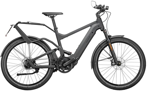 Riese & Müller Delite Rohloff Perf. Speed Grey 47cm 625wh Nyon