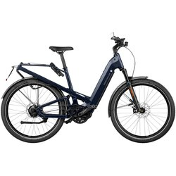 Riese & Müller Homage Vario Perf. Speed Blue 49cm 625wh Nyon Comfort kit & front rack