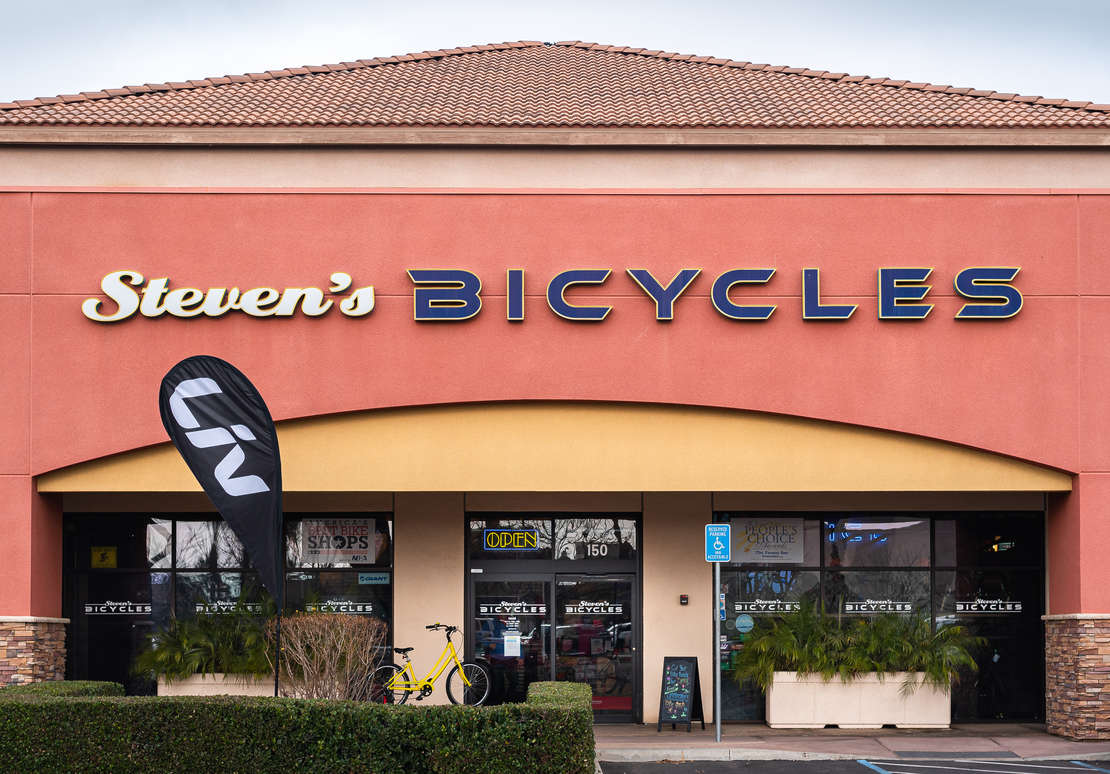 Steven's Bicycles Storefront