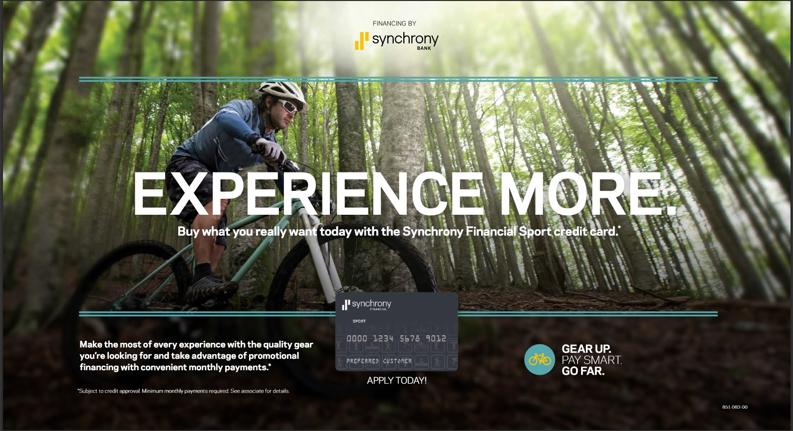 Financing by Synchrony Advertising Image
