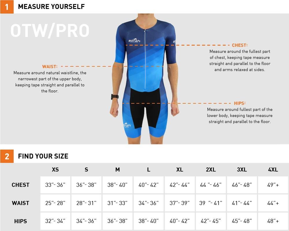 Spoke-n-Sport tri Suit Sizing