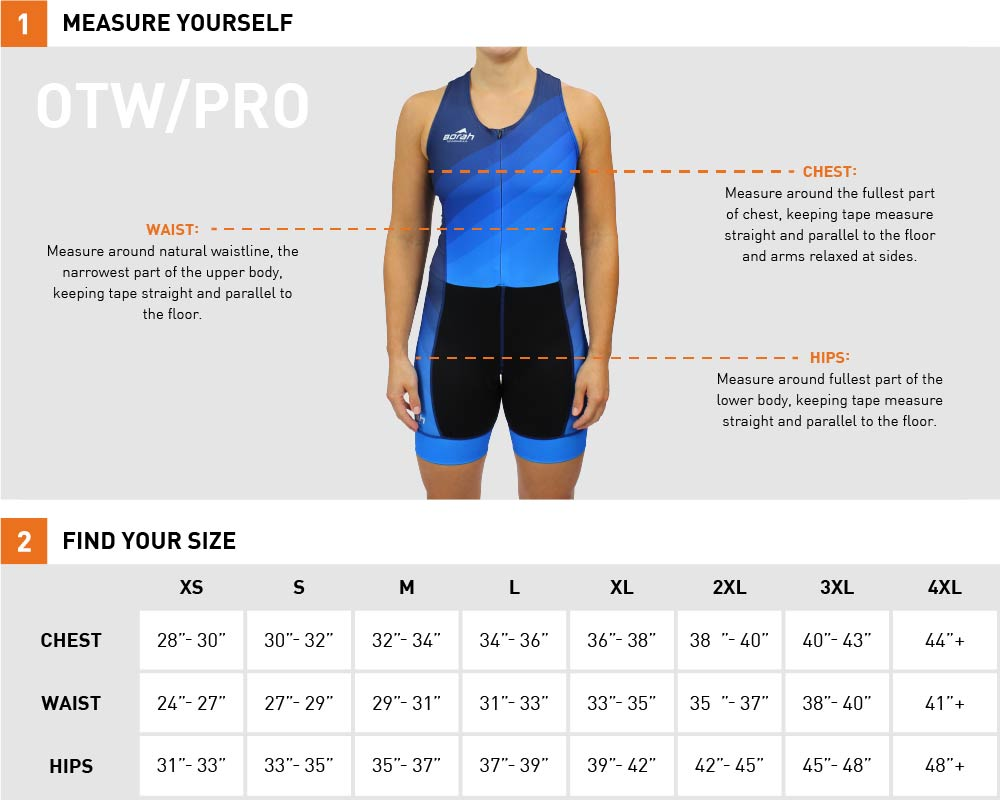 Spoke-n-Sport Tri Suit Sizing