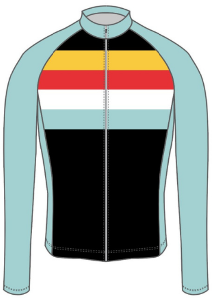 Spoke-N-Sport Spoke-n-Sport Long Sleeve Jersey - Men's