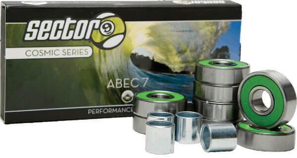 Sector 9 Cosmic Series ABEC 7 Bearing Set
