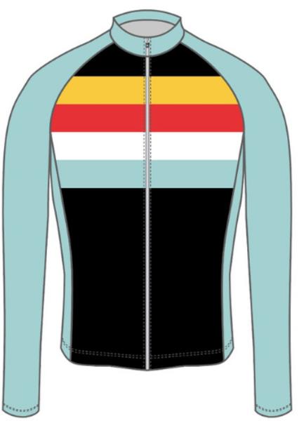 Spoke-N-Sport Spoke-n-Sport Long Sleeve Jersey - Women's-