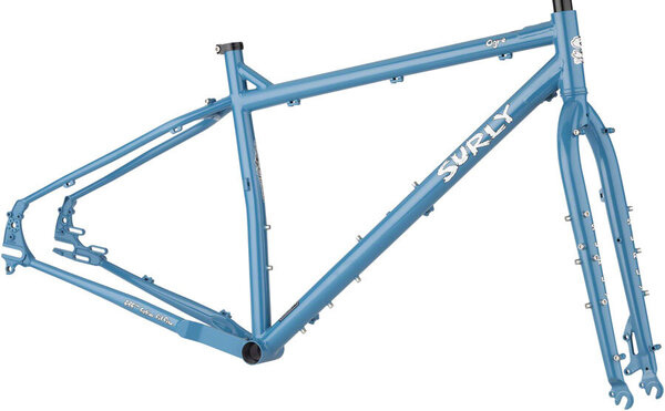 Surly Ogre Frameset Cold Slate Blue