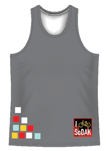 Spoke-N-Sport Coolest Men's Tech Tank