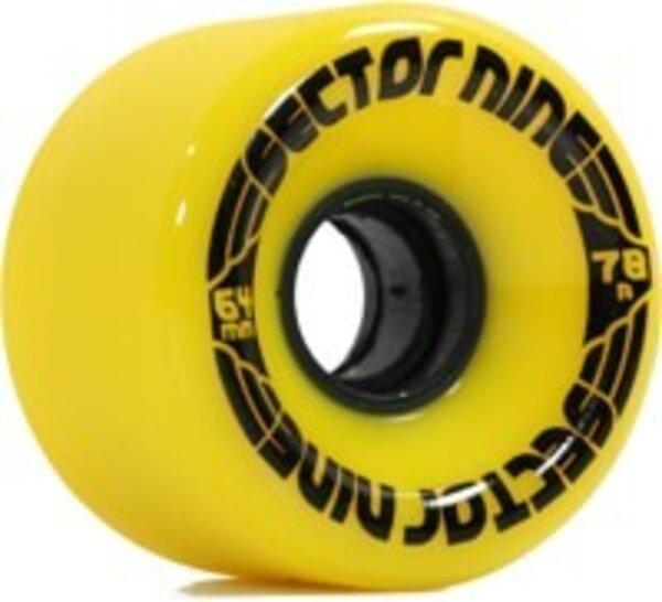 Sector 9 Nineball 64mm 78a Wheelset