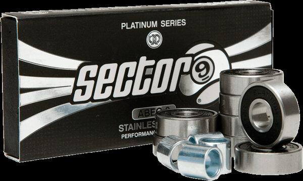 Sector 9 Platinum Series ABEC 9 Bearing Set