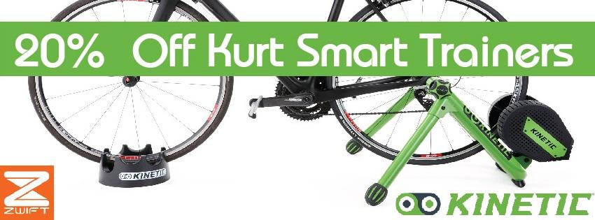 Kinetic Smart Control Trainers - Spoke-N-Sport