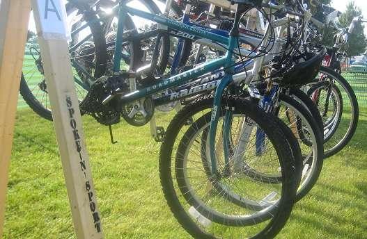 Sioux Falls JazzFest 2011 Bike Valet