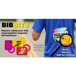 BibBits Magnetic Race Bib Holders