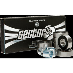 Sector 9 Platinum Series ABEC 9 Bearing Set