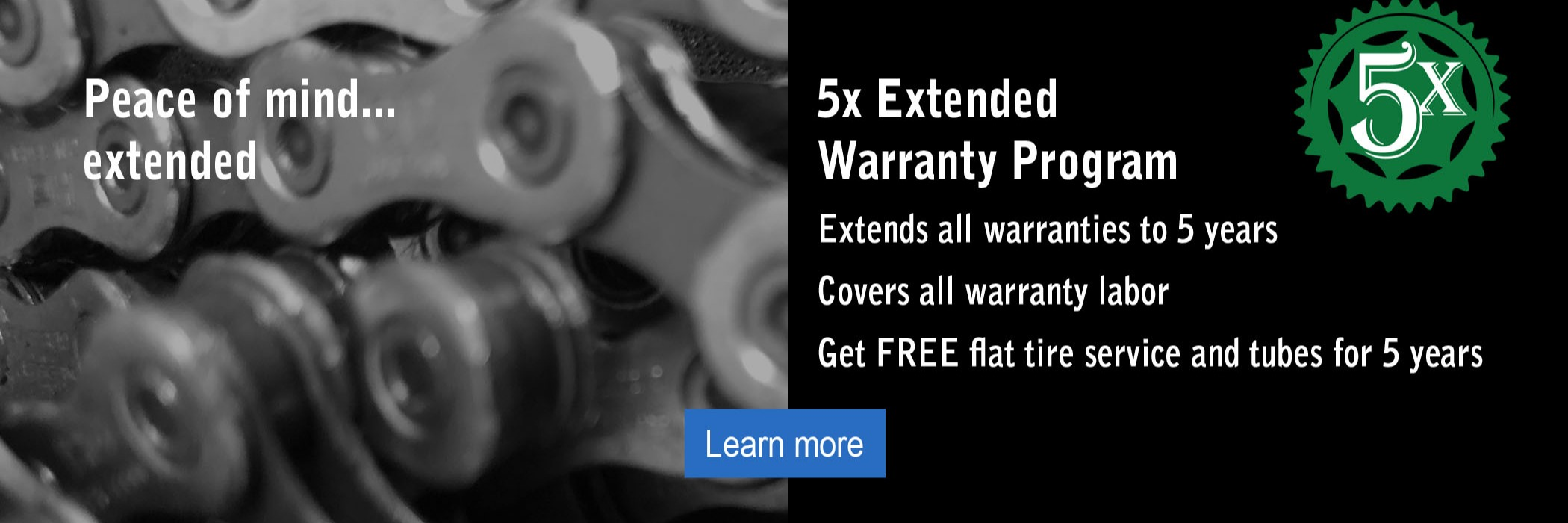 5 times extended warranty