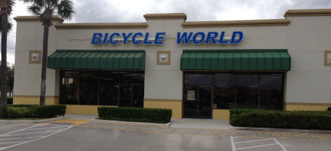 Bicycle World Store Front