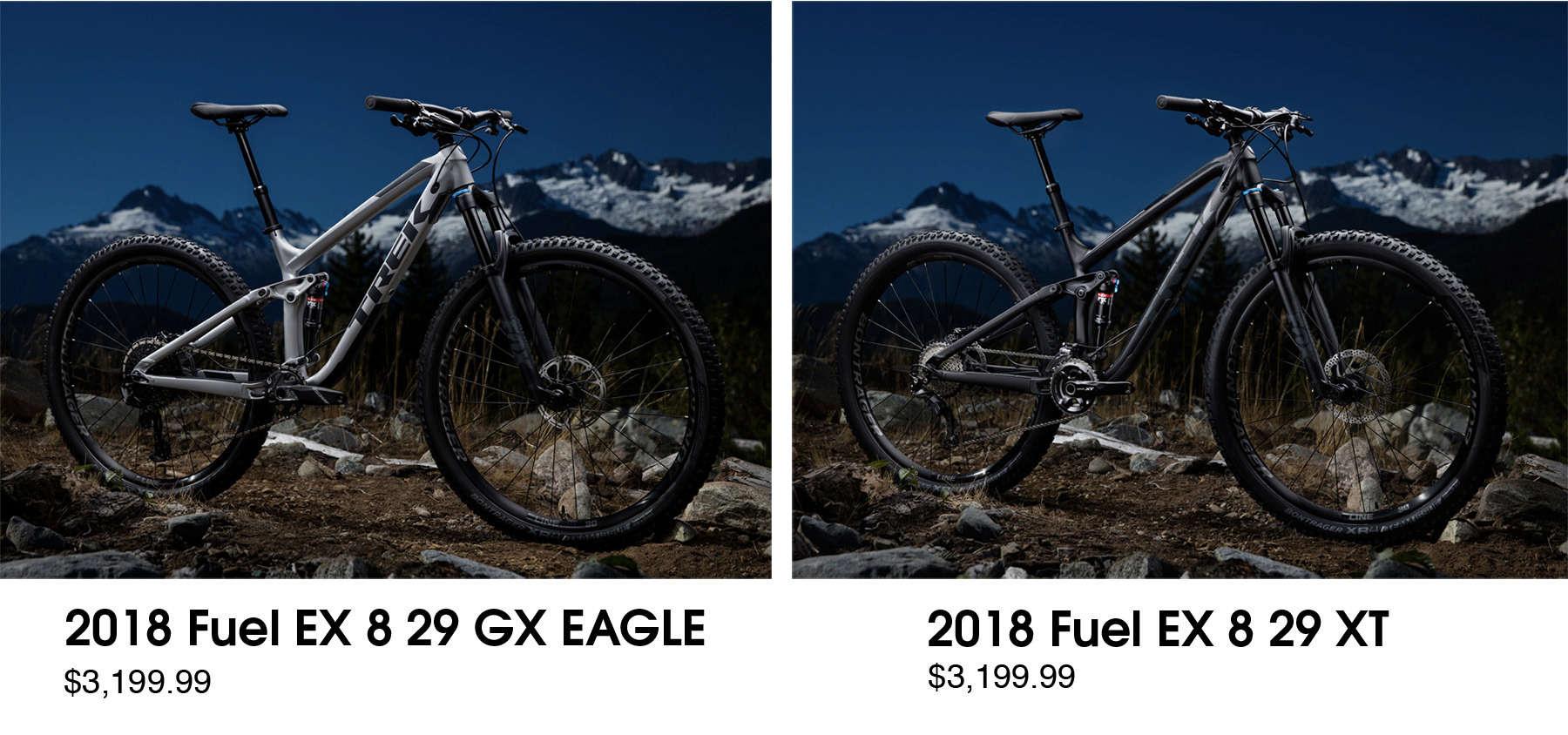 Fuel EX 8 - Shimano VS Sram - Redlands - Riverside - Rancho