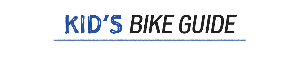 Text: Kids' Bike Guide