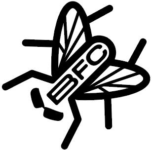 Black Fly Challenge Logo
