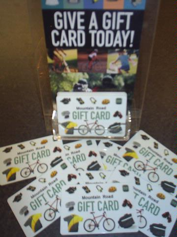 Mountain Road Cycles Gift Cards