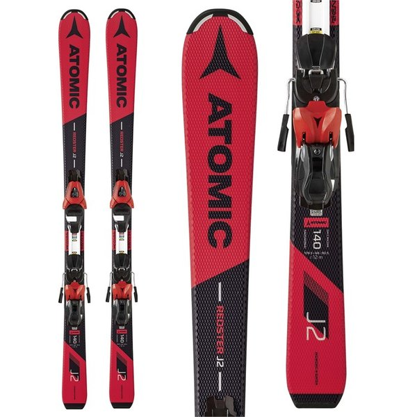 Atomic Redster J2 Skis + L 7 Bindings