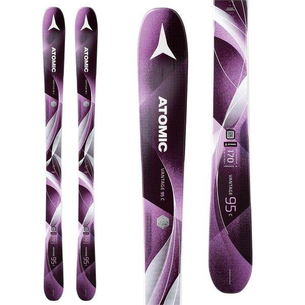 Atomic Vantage X 74 Skis + Lithium 10 Bindings