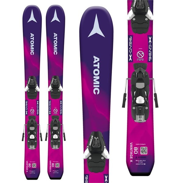 Atomic Vantage Girl X Skis + C 5 SR Bindings - Little Girls'