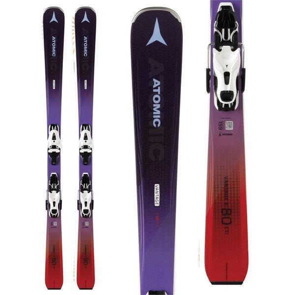 Atomic Atomic Vantage X 80 CTI W Skis + FT 11 GW Bindings