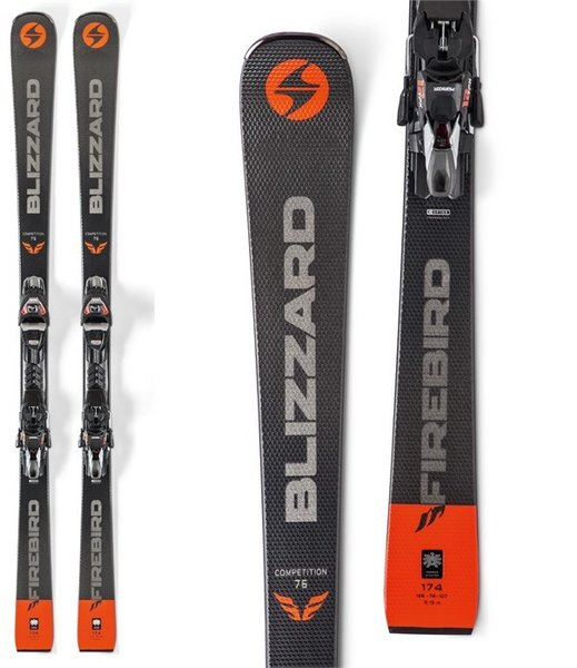 Blizzard Firebird Competition 76 Skis + TPX12 Bindings