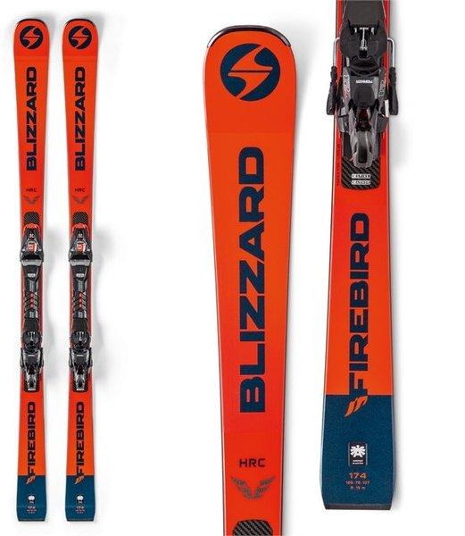 Blizzard Firebird WRC Skis + X-Cell 12 Bindings