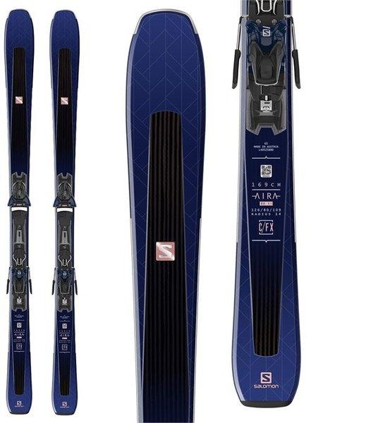 Salomon Aira 80 Ti Skis + Z10 GW Bindings