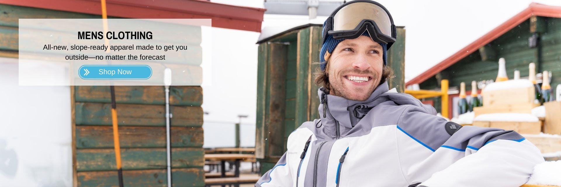 Mens Ski Snowboard Clothing