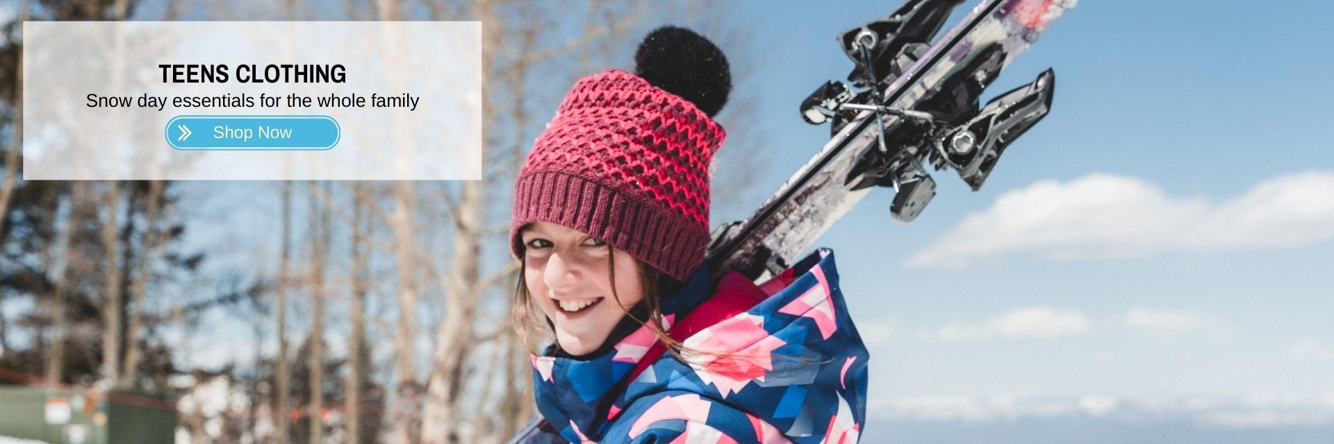 Teens Ski Snowboard Clothing