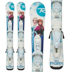 Rossignol Frozen Baby Skis + Kid X-4 Bindings - Little Girls