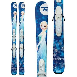 Rossignol Frozen Skis + Kid-X 4 Binding - Girls