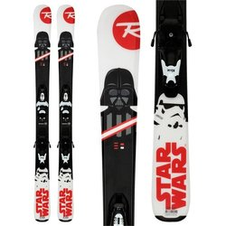 Rossignol Star Wars Baby Skis + Kid X-4 Bindings Little Kids