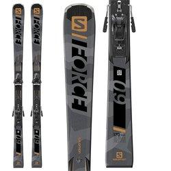 Salomon S/Force 9 Skis + Z12 GW Bindings
