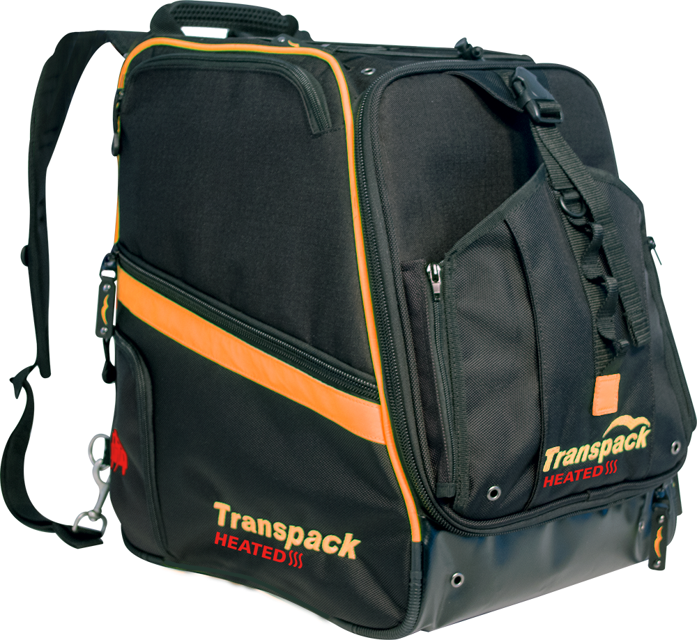 Red//Silver Electric Transpack TRV Ballistic Pro Snow Gear Bag
