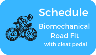 Schedule Biomechanical Road Fit with cleat pedal