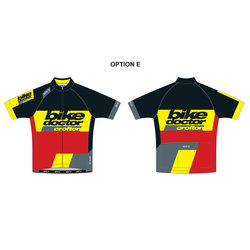 CROFTON BIKE DOCTOR 18 CBD Split-Zero Jersey M Race Athlos