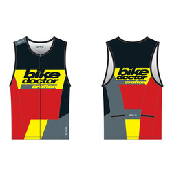 CROFTON BIKE DOCTOR 18 CBD Breakaway Tri Top Men's Pro