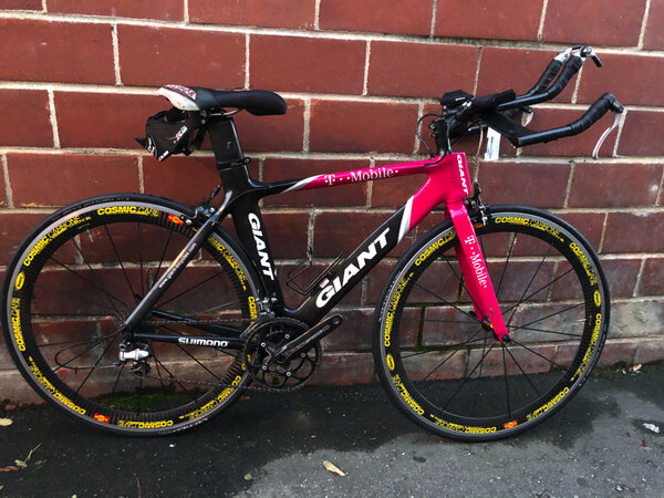 Used Giant T-Mobile Special Edition TT Road Bike