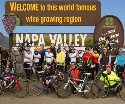 Napa Valley road bike and mountain bike rides