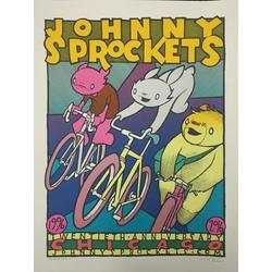 JOHNNY SPROCKETS 20TH ANNIVERSARY POSTER