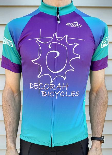 Borah Teamwear Decorah Bicycles SS Unisex Jersey