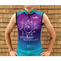 Borah Teamwear Decorah Bicycles Sleeveless Women's Jersey