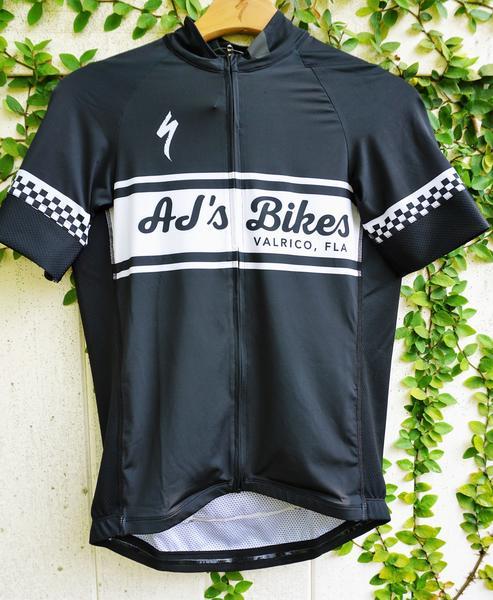AJ's Bikes and Boards Gear AJ's Retro Jersey